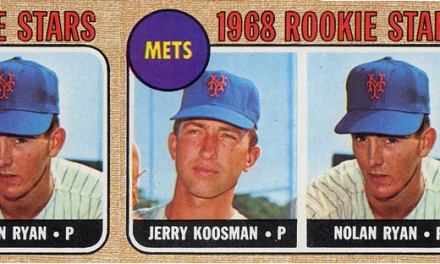 1968 Topps Nolan Ryan Rookie Card Still a Classic