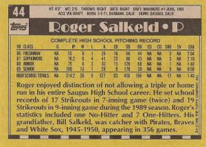 1990-Topps-Roger-Salkeld-back