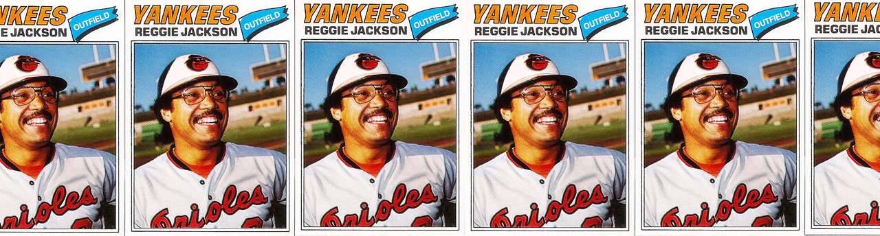"This Reggie Jackson Baseball Card Is PROOF that His ""Lost"" Season Actually Happened"
