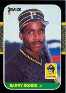 Two Barry Bonds Baseball Cards That Prove He Really DID Change ...