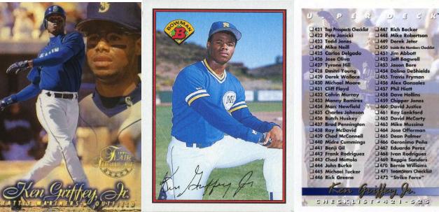 Ken Griffey, Jr., Baseball Cards: The Definitive Guide