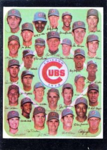 Topps 1971 Team Chicago Cubs