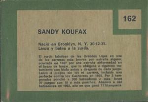 1967-Venezuela-Topps-Retirado-Sandy-Koufax-back