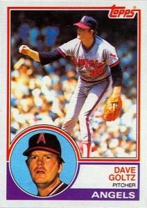 1983 Topps Dave Goltz