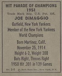1951-Berk-Ross-Joe-DiMaggio-back