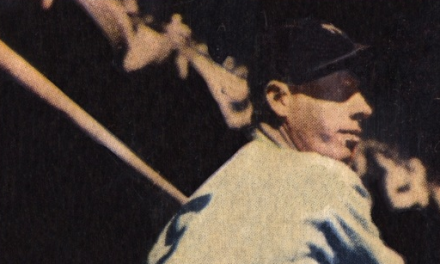 This Joe DiMaggio Baseball Card Was Last of Storied Career
