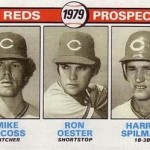1979 Topps Ron Oester Rookie Card — and Happy Birthday!