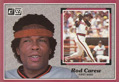 Rod Carew Baseball Cards Tug at the Heart