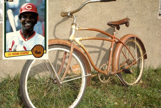 Cesar and the Schwinn