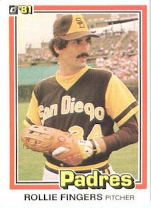 1981 Donruss Rollie Fingers
