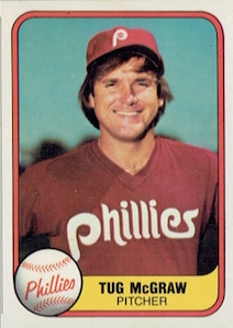 1981 Fleer Tug McGraw
