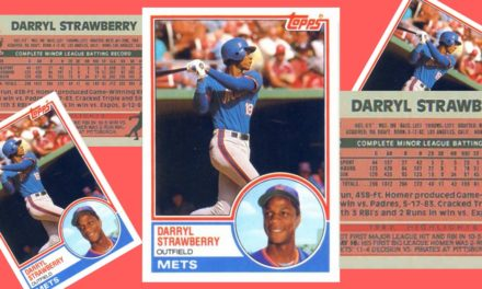 The Darryl Strawberry Baseball Card that Turned Traded Sets into a Hobby Phenomenon
