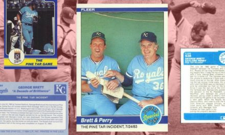 This George Brett Baseball Card Has Too Much Pine Tar!