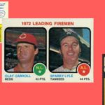 Which Baseball Card Was the First to Feature Saves?