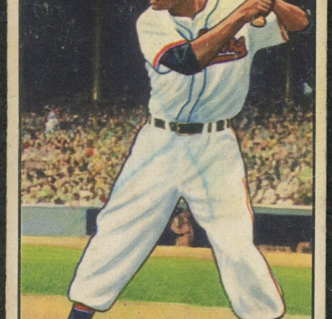 1951 Bowman Larry Doby