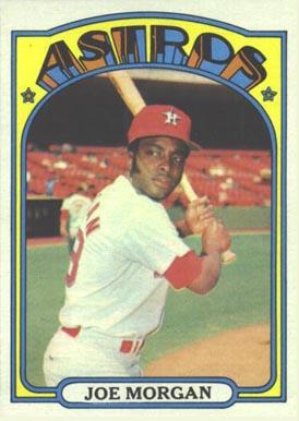 1972 Topps Joe Morgan