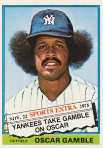 1976 Topps Traded Oscar Gamble