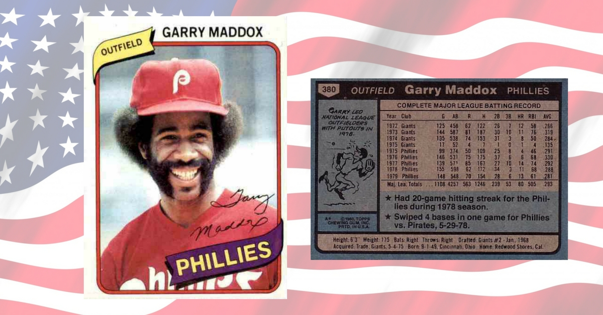 Vietnam Veteran Garry Maddox Led Phillies to Victory on Memorial Day in 1980