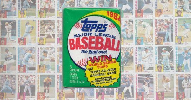 1984 Topps Baseball Cards