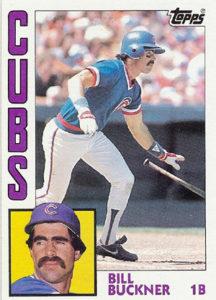 1984 Topps Bill Buckner