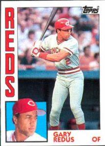 1984 Topps Gary Redus