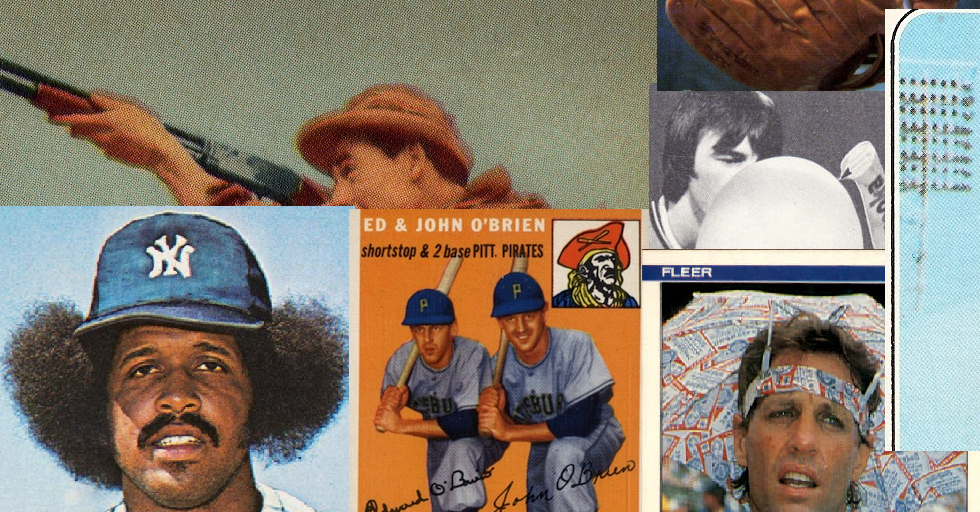 10 Fun Classic Baseball Cards that Make Everyday Feel Like Friday