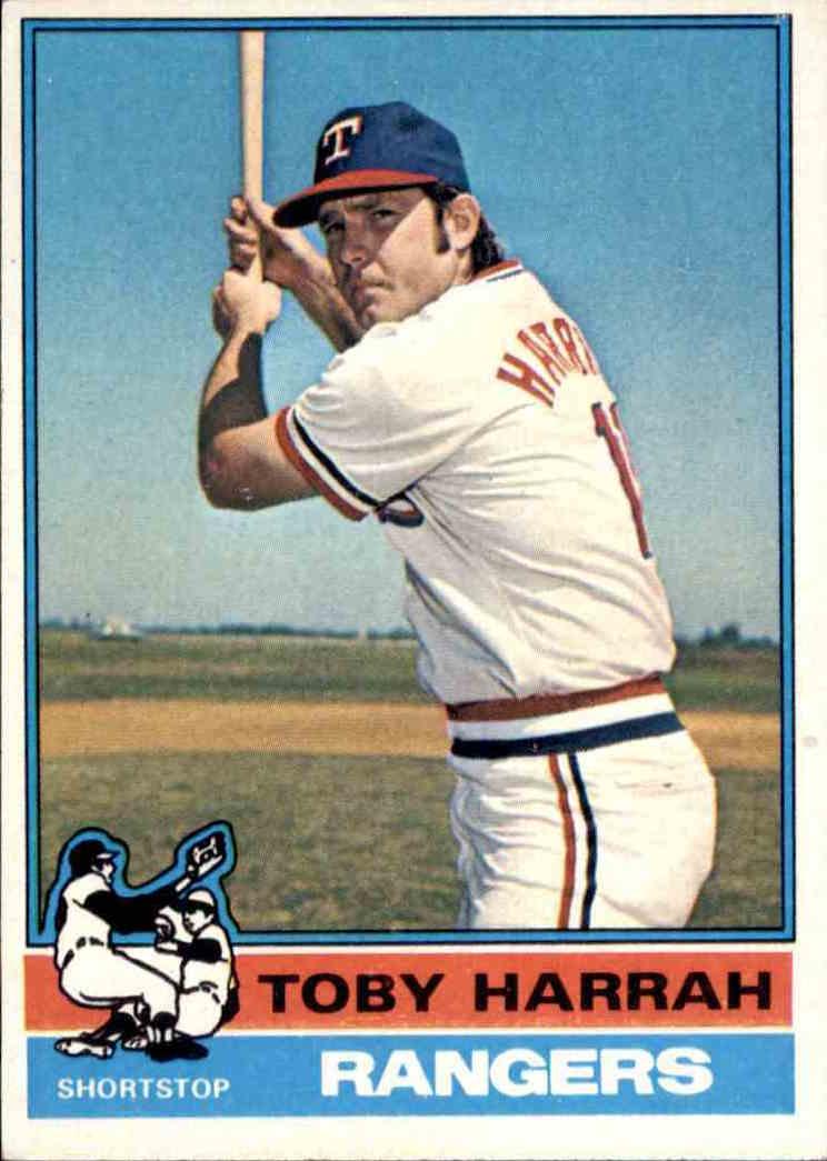 1976 Topps Toby Harrah