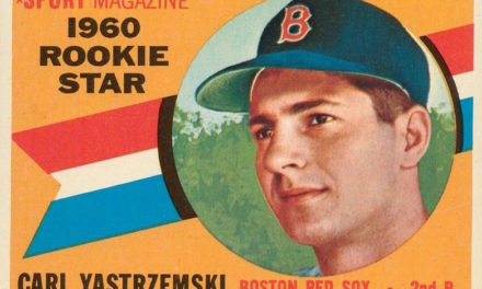 1960 Topps Carl Yastrzemski Rookie Card: The Rime of the Ancient Mariner
