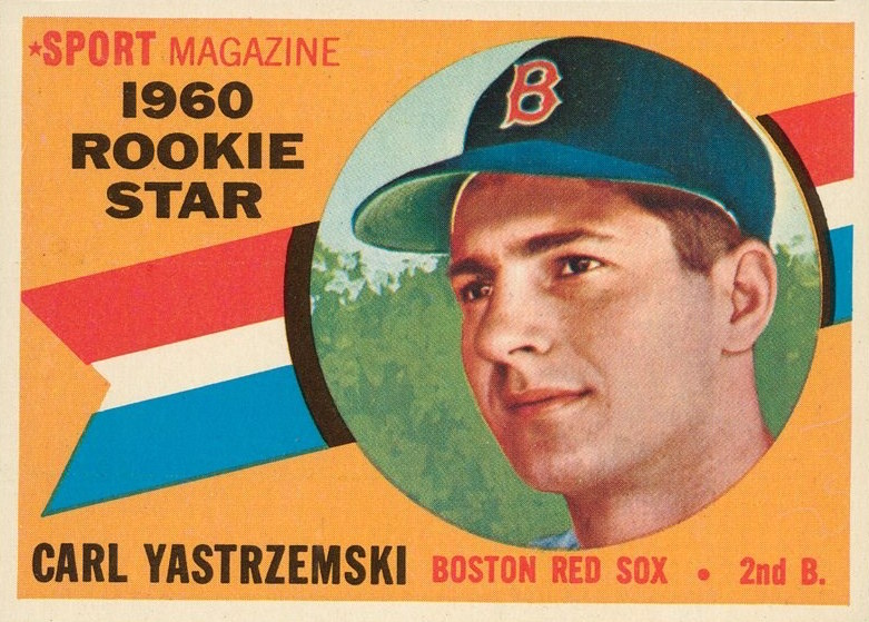 1960 Topps Carl Yastrzemski: The Rime of the Ancient Mariner