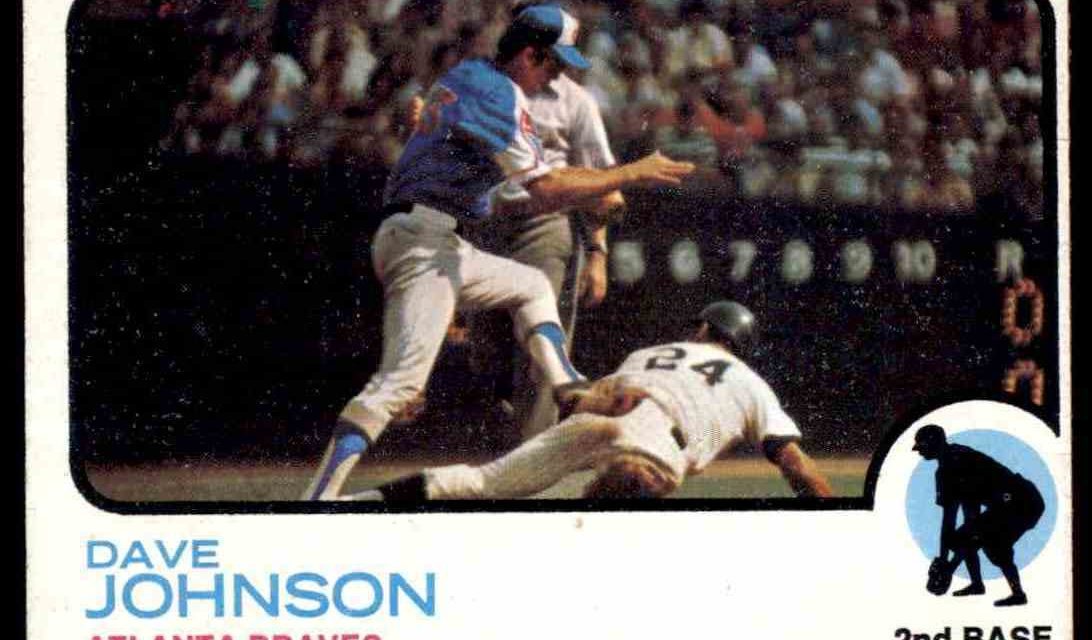 Shadowy 1973 Topps Davey Johnson Gave Few Hints of Future Greatness
