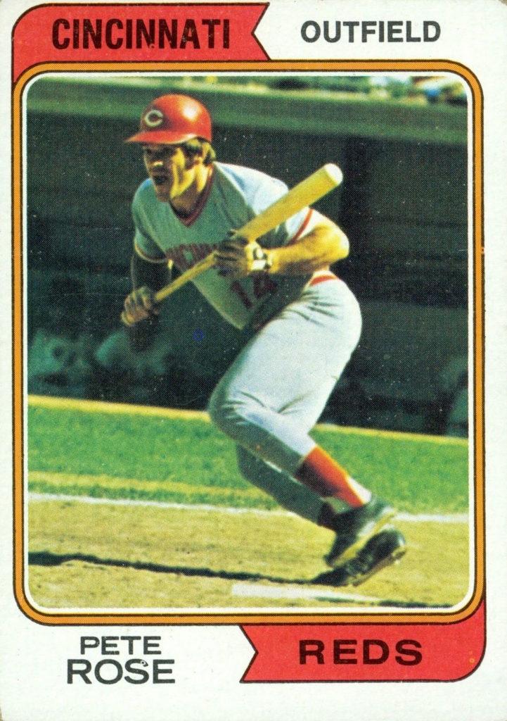 1974 Topps Pete Rose