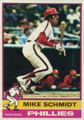 1976 Topps Mike Schmidt