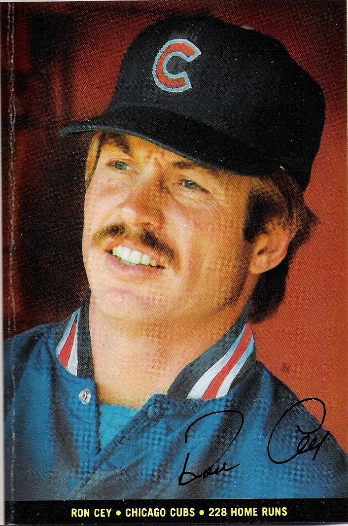 1983 Topps Foldouts Ron Cey