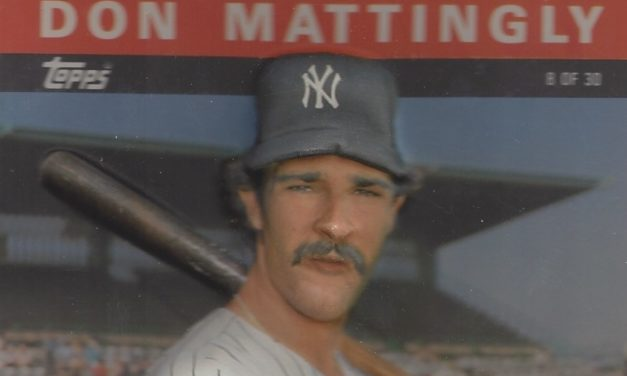 The Don Mattingly Baseball Card That Was as Multi-Dimensional as Donnie Baseball Himself