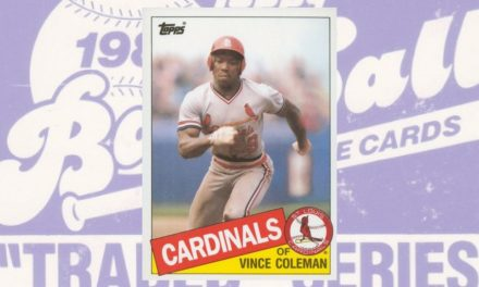 1985 Topps Traded Vince Coleman Was a Firecracker Budget-Breaker