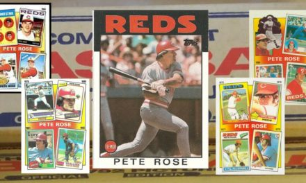 1986 Topps, Pete Rose, and Dad