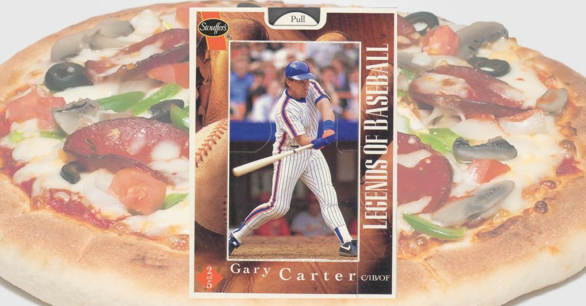 How 1995 Stouffer's Legends of Baseball Gary Carter Makes Me Feel Like a Kid Again