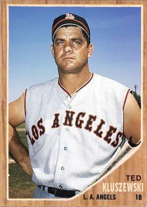1962 Topps Ted Kluszewski
