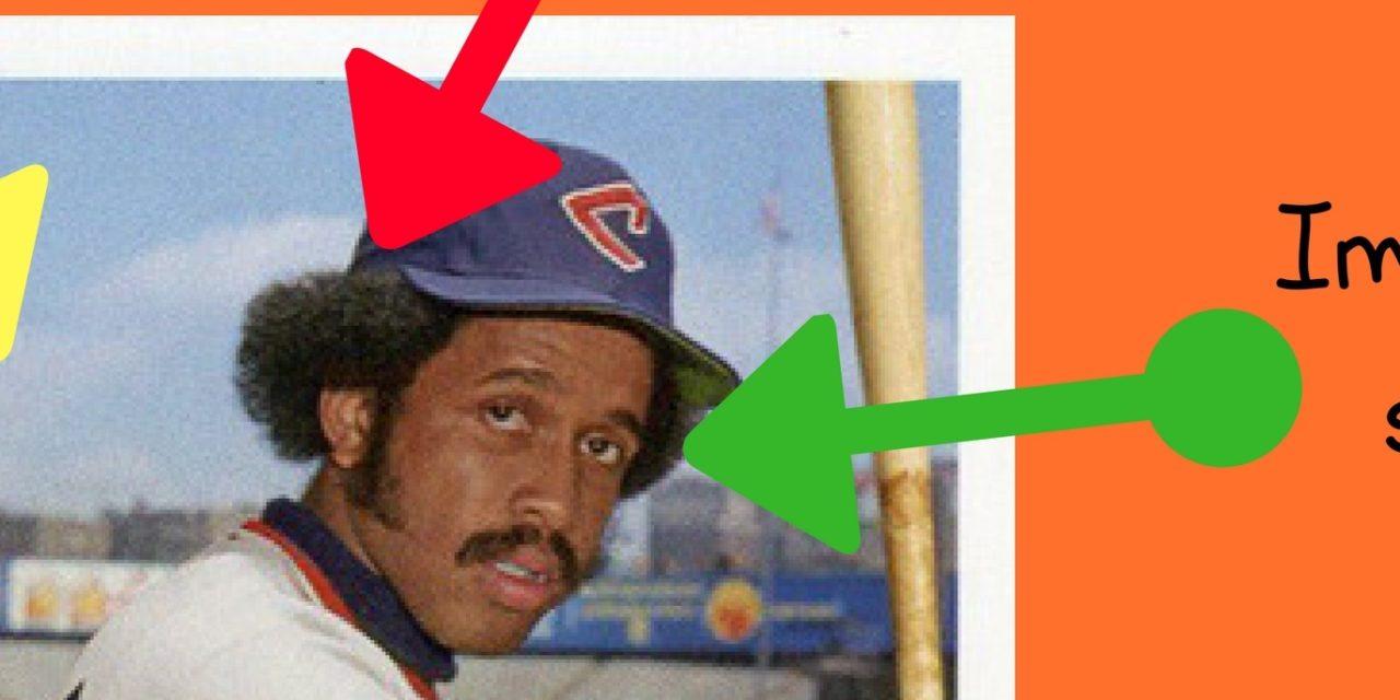 Anatomy of a Baseball Card: Wherein Oscar Gamble Is Certified and Modernized