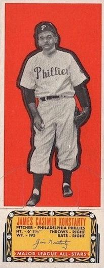 1951 Topps Current All-Stars Jim Kostanty