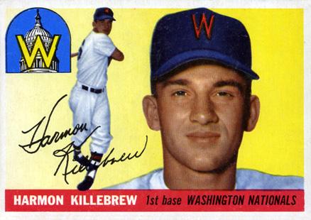 1955 Topps Harmon Killebrew