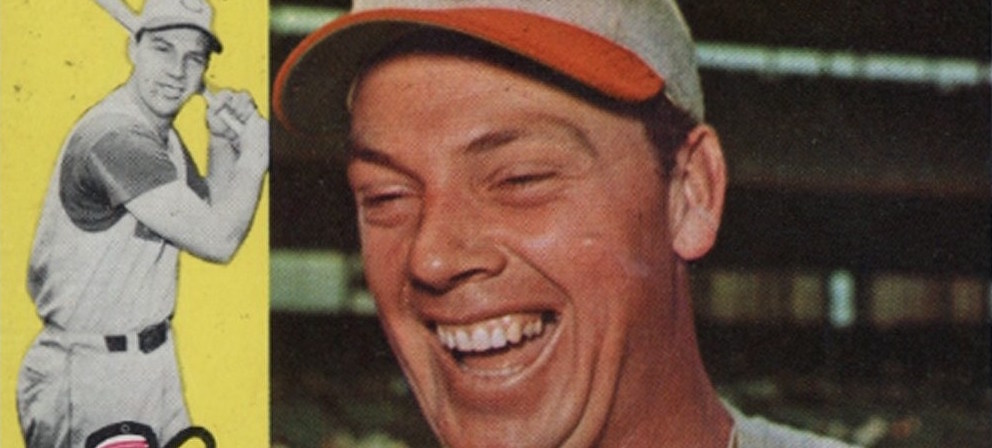 Gus Bell Is Giddy About the Best Baseball Card from 1960