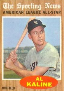 1962 Topps All-Star Al Kaline
