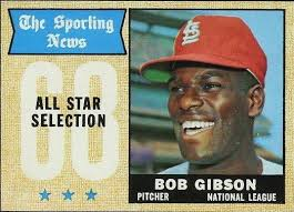 1968 Topps All-Star bob Gibson