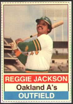 1976 Hostess Reggie Jackson