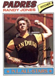 1977 Topps Randy Jones
