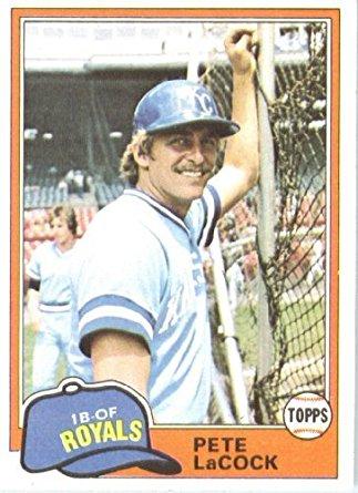 1981 Topps Pete LaCock