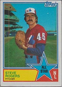 1983 Topps Steve Rogers All-Star