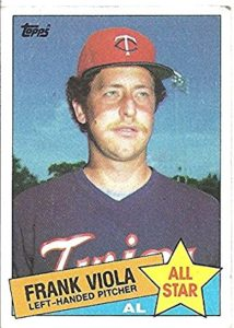 1985 Topps All-Star Frank Viola