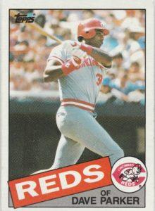 1985 Topps Dave Parker